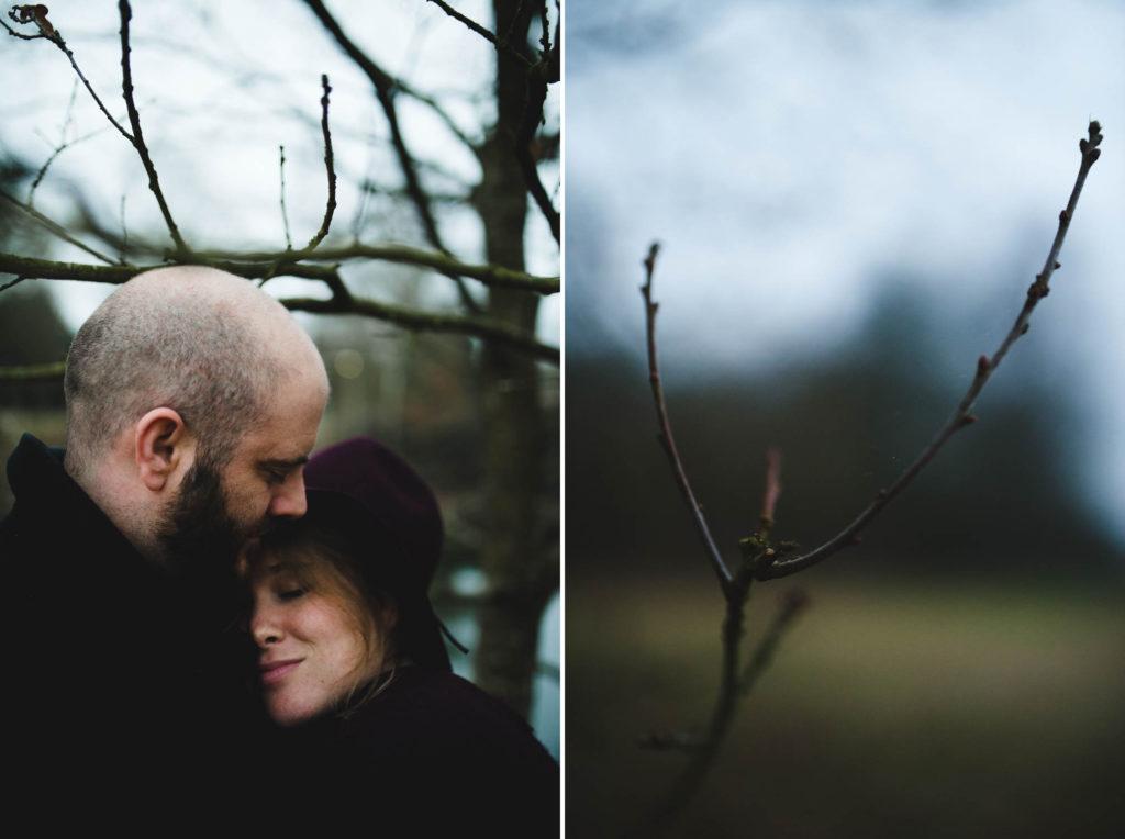 Couple dans la campagne
