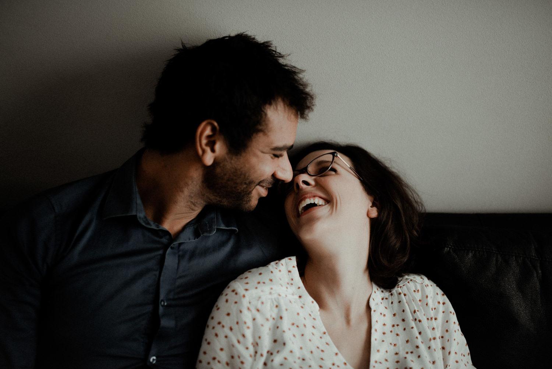 Reportage photo lifestyle couple en seine et marne