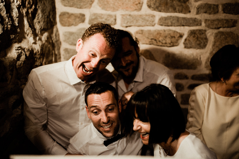 Reportage de soirée d'un mariage en Bretagne