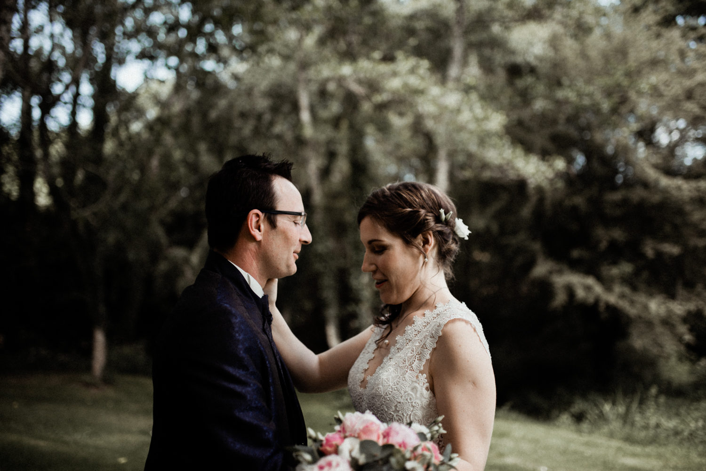 First look des mariés en Bretagne