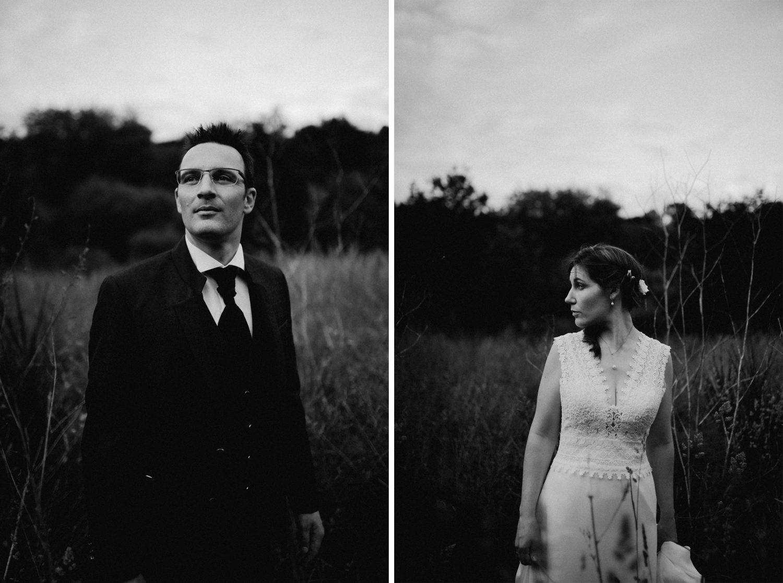 Reportage mariage, mariée bohème dans la nature
