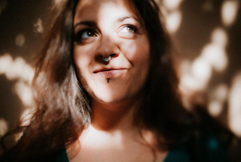 Portrait de femme clair obscur