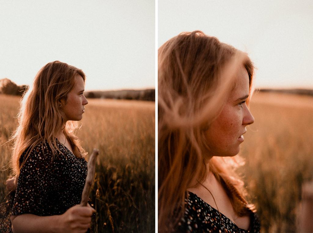 Portraits sauvages Hélène Halgand Photographe